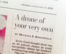 My Drones in Wash Post